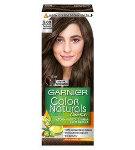 Краска для волос Color Naturals №5.00 Глубокий каштановый 110 мл оптом