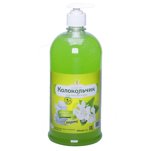 Жидкое крем-мыло Колокольчик Летняя свежесть 1 л оптом