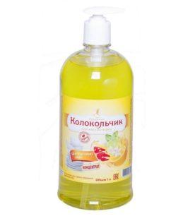 Жидкое крем-мыло Колокольчик Цитрусовый микс 1 л оптом