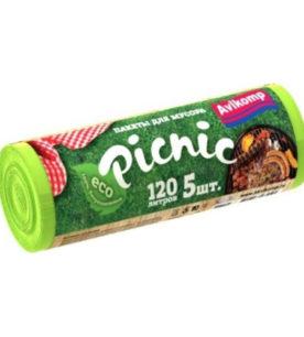 Мешки для мусора Picnic 120 л