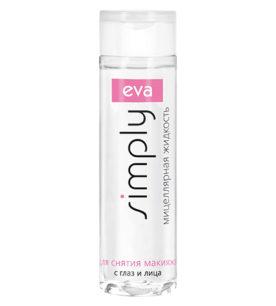 Мицеллярная вода Eva Simply С глаз и лица 200 мл оптом
