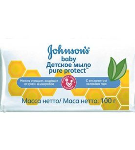 Мыло детское Johnson's baby Pure Protect