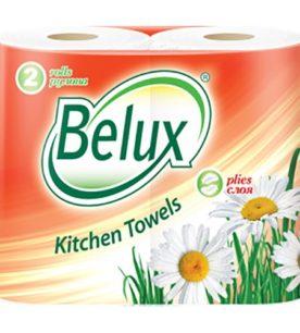 Полотенца бумажные Belux Белые