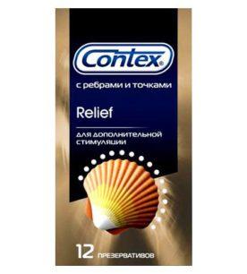 Презервативы CONTEX Relief 12 шт оптом
