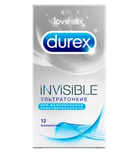 Презервативы DUREX Invisible