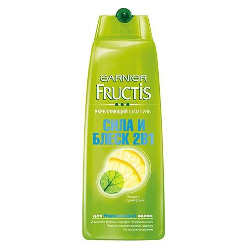Шампунь Fructis Сила и Блеск 2в1 250 мл оптом