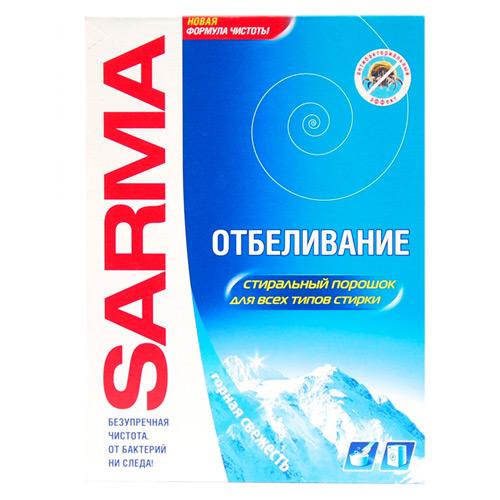 Стиральный порошок SARMA Горная свежесть 400 г оптом