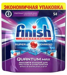Таблетки для посудомоечных машин Calgonit finish Powerball