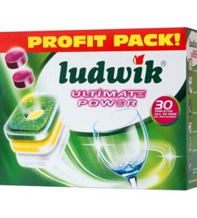 Таблетки для посудомоечных машин Ludwik All in one 30 шт оптом