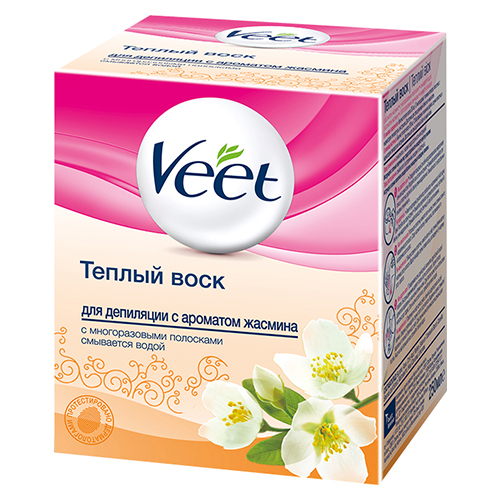 Теплый воск для депиляции Veet Salon