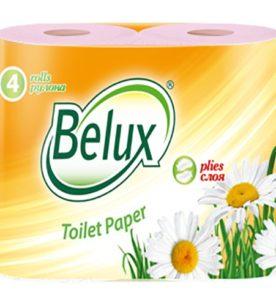 Туалетная бумага Belux Розовая
