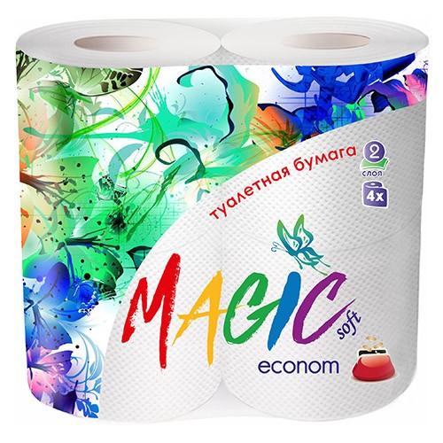 Туалетная бумага Magic 2х-слойная