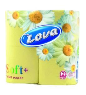 Туалетная бумага Mylova 2х-слойная