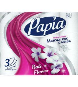 Туалетная бумага Papia 3х-слойная