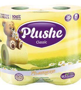 Туалетная бумага Plushe Classic