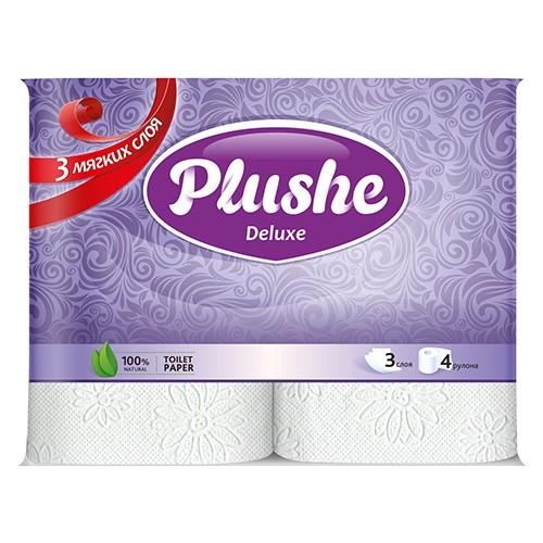 Туалетная бумага Plushe Deluxe