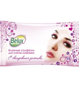 Влажные салфетки Belux Для снятия макияжа