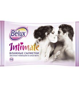 Влажные салфетки Belux Intimate