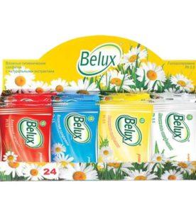 Влажные салфетки Belux Mix 15 шт оптом