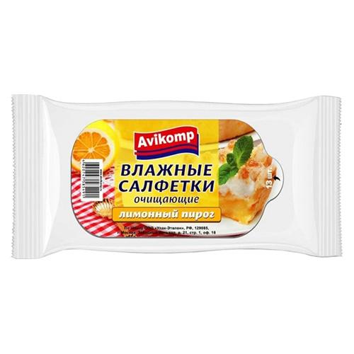 Влажные салфетки Prolang Лимонныйпирог 13 шт оптом