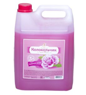 Жидкое крем-мыло Колокольчик Чайная роза