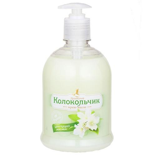 Жидкое крем-мыло Колокольчик Цветущий жасмин 500 мл оптом