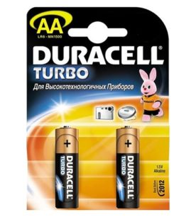 Батарейки Duracell Turbo