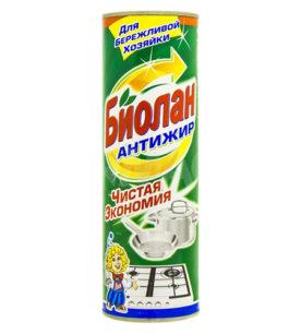 Чистящее средство Биолан Антижир 400 г оптом