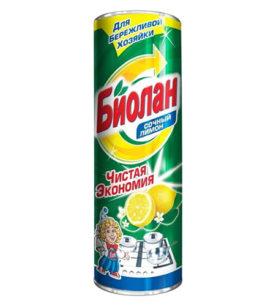 Чистящее средство Биолан Сочный Лимон 400 г оптом