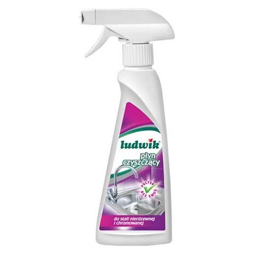 Чистящее средство Ludwik Для чистки нержавеющей и хромированной стали 250 мл оптом
