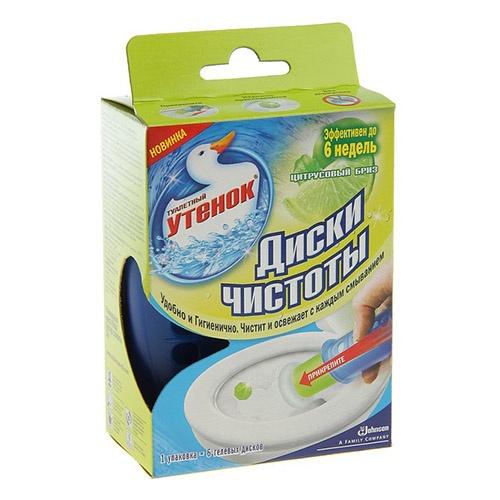 Чистящее средство для туалета Туалетный Утёнок Цитрусовый бриз