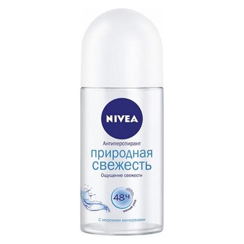 Део-дезодорант роликовый NIVEA Природная свежесть 50 мл оптом