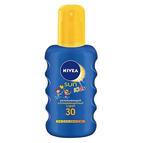 Детский солнцезащитный спрей Nivea SUN