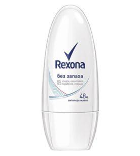 Дезодорант роликовый Rexona Без запаха 50 мл оптом