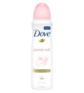 Дезодорант спрей Dove Нежность пудры 150 мл оптом