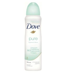 Дезодорант спрей Dove Pure