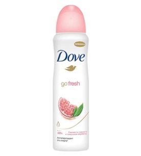 Дезодорант спрей Dove Свежесть граната и лимоной вербены 150 мл оптом