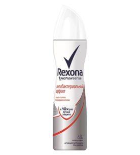 Дезодорант спрей Rexona Антибактериальный эффект 150 мл оптом
