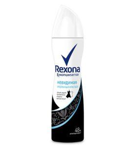 Дезодорант спрей Rexona Невидимая прозрачный кристалл 150 мл оптом
