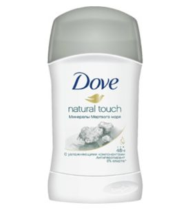 Дезодорант стик Dove Natural touch