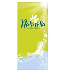 Ежедневные прокладки Naturella Camomile Light 20 шт оптом