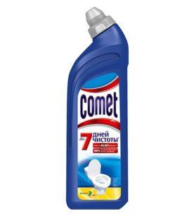 Гель для чистки туалета Comet 7 дней чистоты
