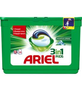 Гель-капсулы Ariel Liquid Capsules