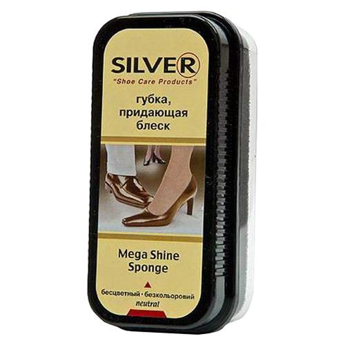 Губка для обуви Silver Mega shine sponge 1 шт оптом