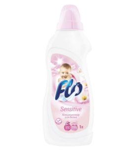 Кондиционер для белья Flo Sensitive 1 л оптом