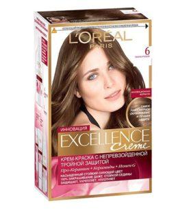 Краска для волос Excellence 6 Темно-русый 1 шт оптом