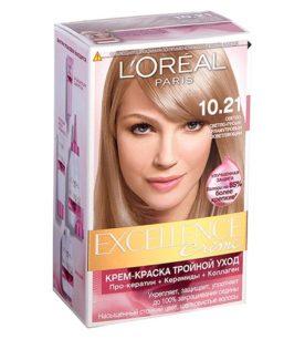 Краска для волос Excellence Светло-светло-русый перламутровый осветляющий