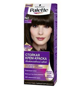 Краска для волос Palette №2 Темно-каштановый 110 мл оптом