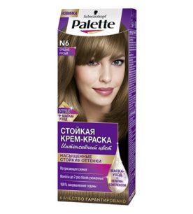 Краска для волос Palette №6 Средне-русый 110 мл оптом