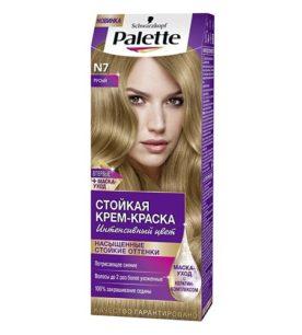 Краска для волос Palette №7 Русый 110 мл оптом